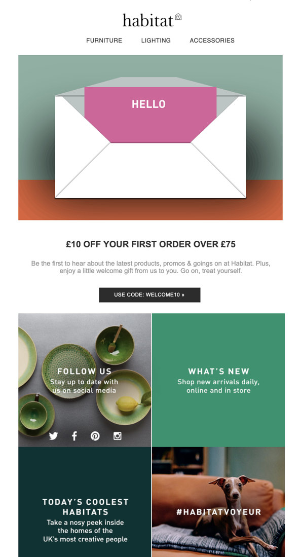 Effective onboarding Email message