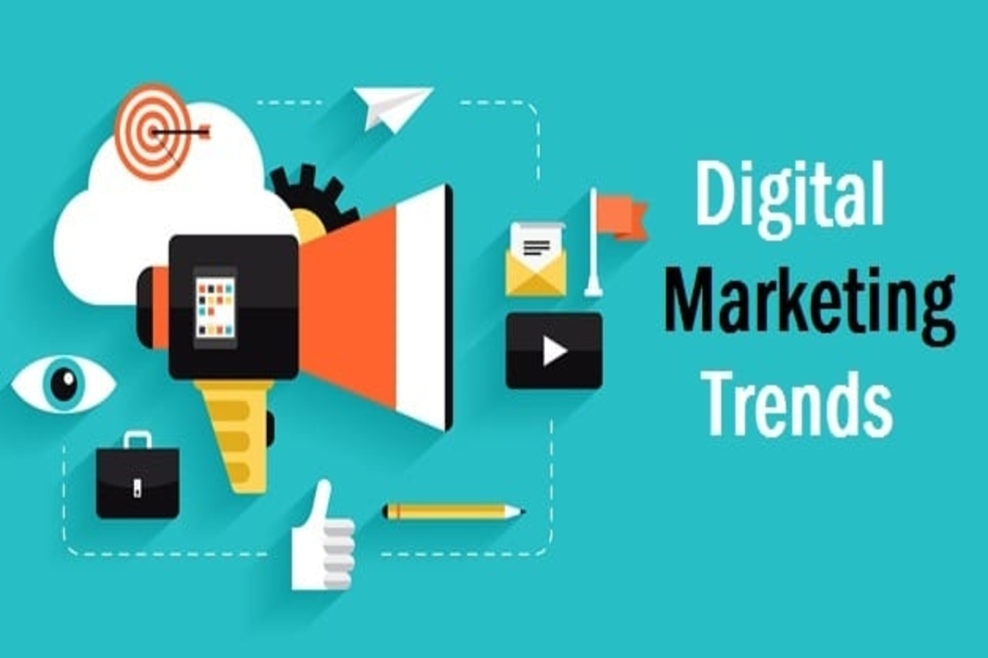 Top Digital Marketing trends that you can't ignore in 2021.